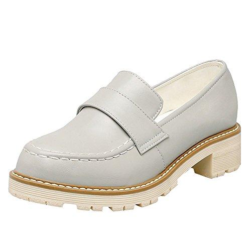 Chaussures à lacets Charme grises Casual femme DWh70C9