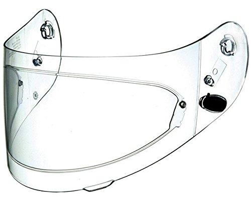 HJC Helmets HJ-17 Unisex-Adult Flip-Up-Helmet-Style Replacement Helmet Face Shield (Clear,One Size)