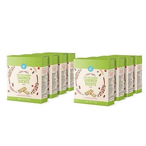 Amazon-merk: Happy Belly – sandwichkoekjes met appel en kaneel, 8 x 148 g