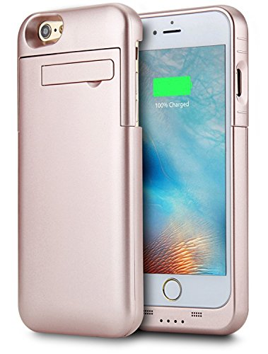 iPhone 6/6S Battery Case,Peyou® 3200mAh [Lightning Charging Interface] Charging Case For Apple iPhone 6/6s 4.7 Inch, Slim Extended Backup Charger Power Bank Cover with Kickstand