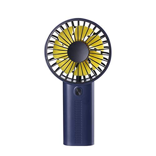 Outique Mini Handheld Fan,Univeral Mini Fan Cooling Foldable Desktop Phone Holder USB Rechargeable Fan for Kid Student