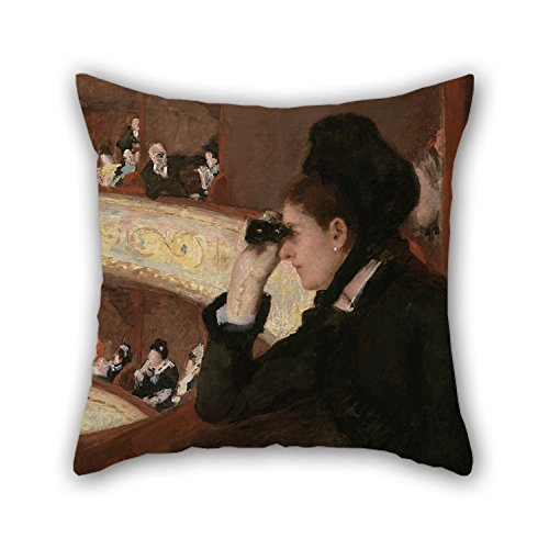 Moses And Aaron Costume (Alphadecor 16 X 16 Inches / 40 By 40 Cm Oil Painting Mary Stevenson Cassatt - In The Loge Throw Pillow Case,both Sides Is Fit For Girls,club,dinning Room,husband,valentine,sofa)