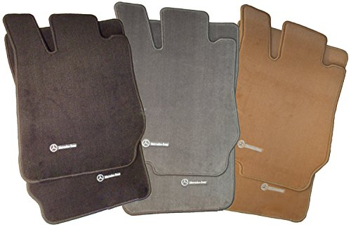 2006 Mercedes S-class - Mercedes-Benz Genuine OEM Carpeted Floor Mats S-Class 4MATIC 2000 to 2006 (Color:Charcoal)