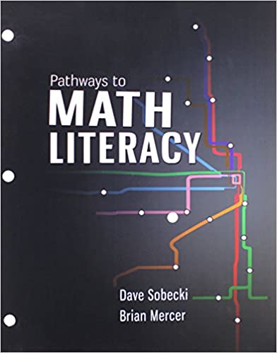 Pathways to Math Literacy with McGraw-Hill Connect Access Card ...