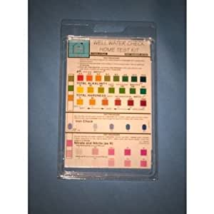 Well Water Check Home Test Kit
