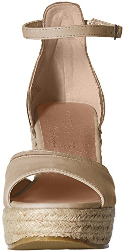 Coconuts by Matisse Women's Bonvoyage Espadrille Wedge Sandal Natural u89zNK