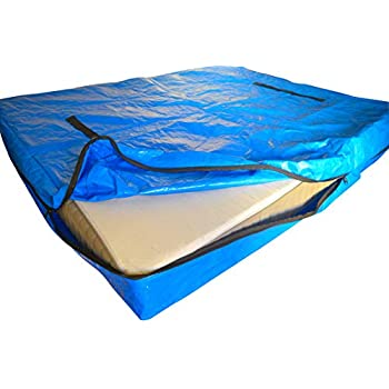 Amazon Com Mattress Bags For Moving And Storage Reusable