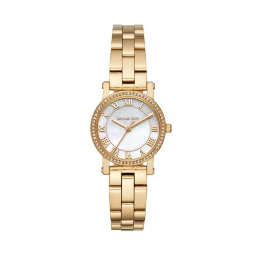 Michael Kors Women's Quartz Stainless Steel Casual Watch, Color:Gold-Toned (Model: - Warehouse New Arrivals