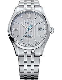 Kentex ESPY 3 Classic Men's Automatic Date Silver Dial Watch E573M-01