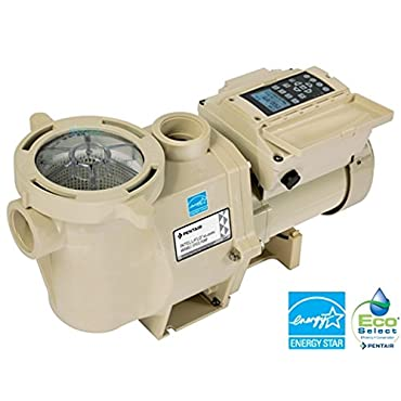 Pentair 011057 IntelliFlo VS Plus SVRS Variable Speed In Ground Pool Pump