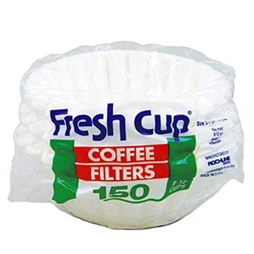 (Pack of 36, 5400 Ct) Fresh Cup Coffee Filters 8-12 Cup Filter, 150ct
