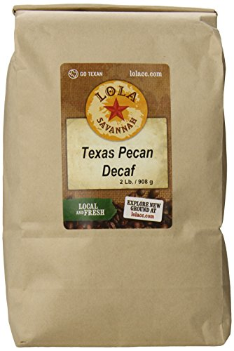 Bean Pecan Whole - Texas Pecan, Whole Bean, Decaf, 2 Pound