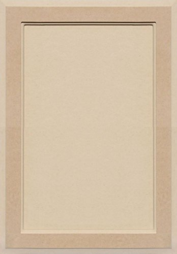 Unfinished MDF Square Flat Panel Cabinet Door by Kendor, 23H x 16W (Flat Panel Cabinet Doors)