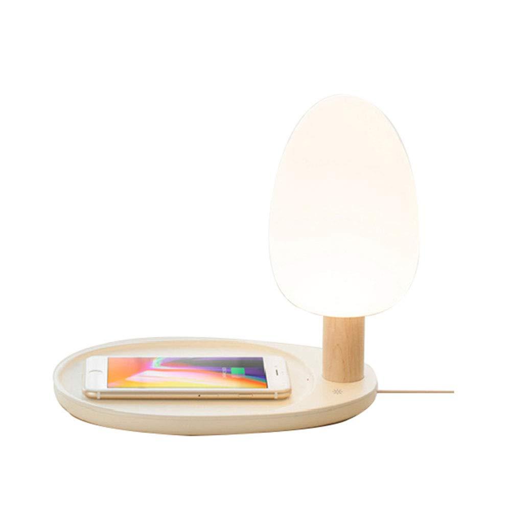 Wansheng Luz De De De Lectura De Carga Inalámbrica Multi-Función De La Lámpara De Mesa Táctil Iluminación Colorida LED De La Lámpara Cuentas 3.5W con Función De Almacenamiento c1a981
