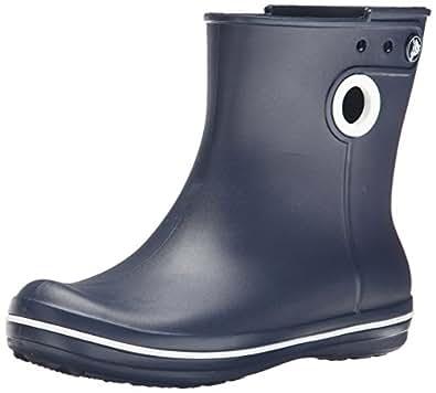 Crocs Jaunt Shorty Boot W, Botas de Agua para Mujer, Azul (Navy), 33/34 EU