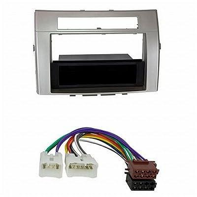 """'ACV 281300–21–2+ 1300–02de radio y conector Cable """"de 1DIN RB con compartimento Toyota Corolla 2002> Gris Oscuro/multicolor"""