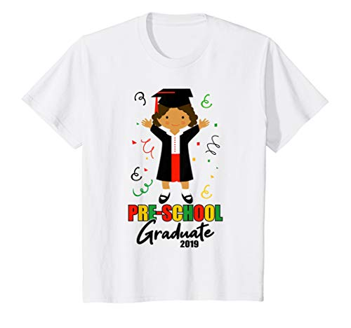 (Kids Preschool Graduate 2019 Graduation T-shirt for)