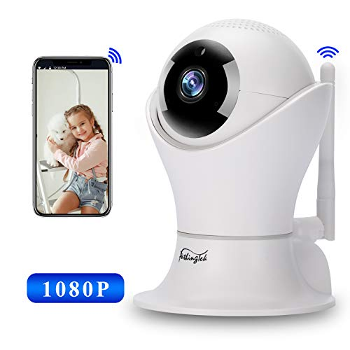 1080P Security Camera Indoor, Pathinglek Pet Camera - Home Wireless IP Camera WiFi Camera for Baby/Elder/Pet with Motion Detection, 2-Way Audio, Night Vision, Cloud Storage
