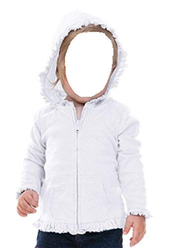 Zippered Girls Sweatshirt - 2