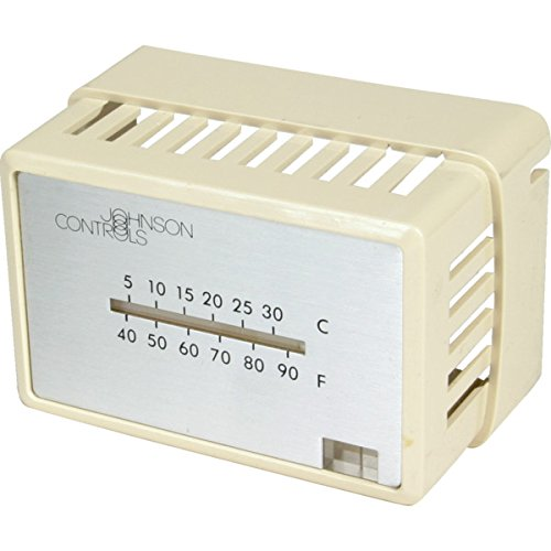 johnson-controls-pneumatic-thermostat-cover-hvac-air-conditioning-refrigeration