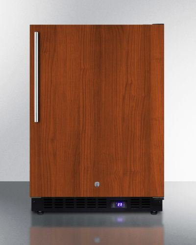 Summit Outdoor Frost-Free Built-in All-Freezer -Wood Model SPFF51OSIFIM by Summit