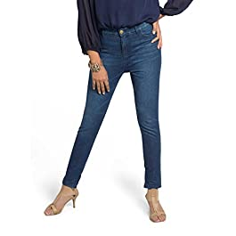 Olgyn Women's Stretch Denim Pants – Slim Fit