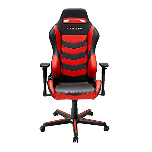 416oJWf8SdL - DXRacer-Drifting-Series-DOHDM166NR-Office-Chair-Gaming-Chair-Ergonomic-Computer-Chair-eSports-Desk-Chair-Executive-Seat-Furniture-With-Pillows-BlackRed