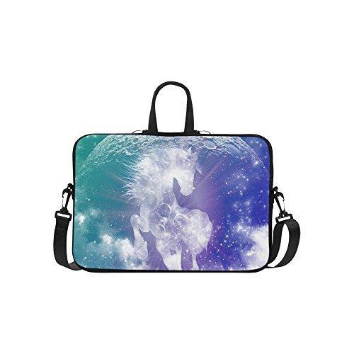 InterestPrint Universe Nebula Horse Laptop Sleeve Case Bag