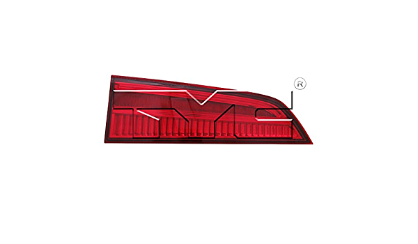 TYC 17-5595-00-9 Compatible with HONDA Pilot Replacement Right Reflex Reflector
