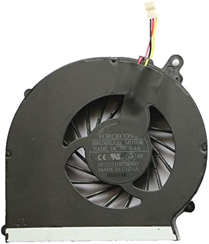 New Laptop CPU Cooling Fan Replacement for HP 2000-428DX 2000-450CA 2000-453CA 2000t-300 2000z-100 2000z-300 2000z-400