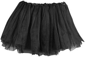 Tutu/Falda De Tul Negro Disfraz Bailarina Ballet Costume: Amazon ...