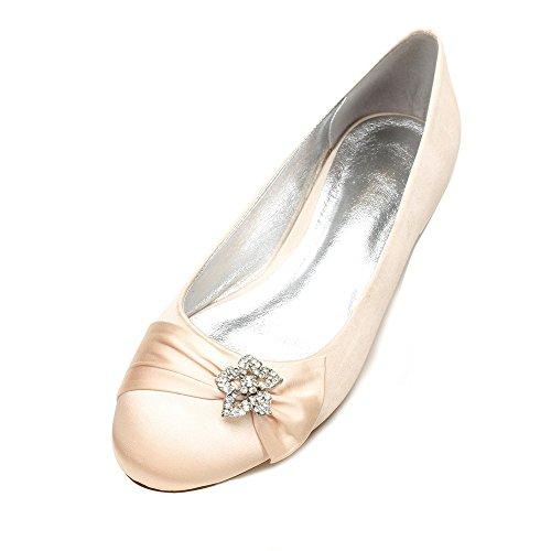 Schuh Party Yuan Damen Hochzeit Bankett Temperament Schuhe Mode Duoai in Schuhe Schuh Schuhe Satin Seide Name P7wnxBF