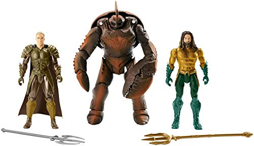 AQUAMAN, ORM, BRINE KING Action Figure, 3-Pack, 6-inch