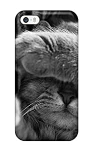 For Iphone Case, High Quality Cat Sleeping For Iphone 5/5s Cover Cases