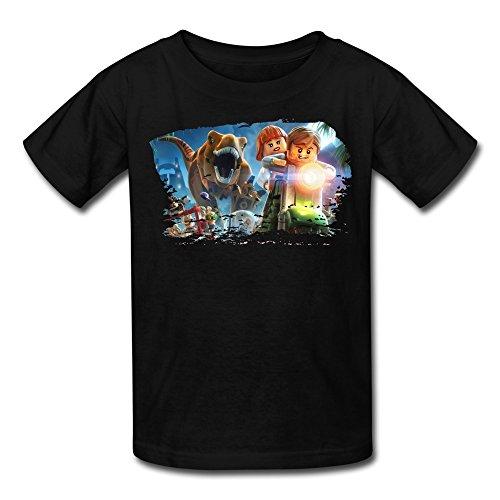 Price comparison product image FUDI Youth's LEGO Jurassic World - Xbox 360 Standard Edition Tshirt XL Black