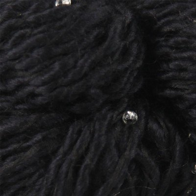 Louisa Harding Grace Hand Beaded Silk Wool Color #08 Black
