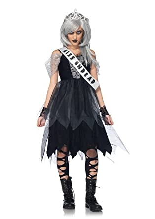 Amazon.com: Leg Avenue Costumes 4Pc.Zombie Prom Queen