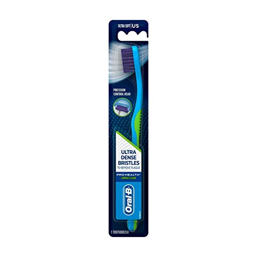 Oral-B Compact Clean Toothbrush, Ultra Soft, 1 Pack (color may vary)