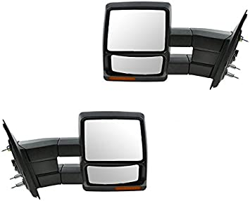 2007 2013 Ford F 150 Power Heated Signal Texture Cover Towing Mirror Pair Complete Wing Mirrors Amazon Canada