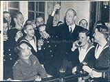 Vintage Photos 1943 Ww2 Era Lord Halifax Wa British Ambassador Rex Benson 7X9