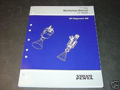(1997 VOLVO PENTA STERN DRIVE EFI DIAGNOSTIC GM MANUAL )