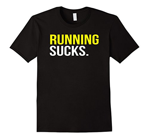 BuzzTshirt Running Sucks T shirt product image
