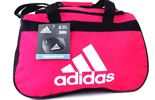51462fe50f41 adidas Diablo II Gear Up Small Gym Travel All Sports Gear Duffle Bag (Bold  Pink White) - Buy Online in Oman.