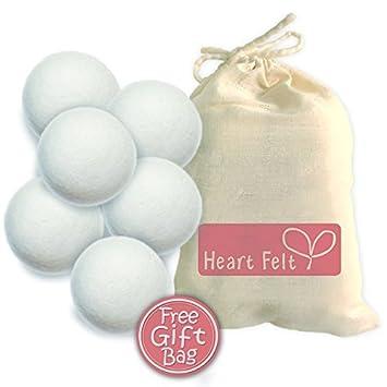 Seis de lana bolas del secador By - El NOMINAL bola del secador Marca MEJOR en