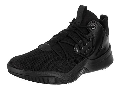 Jordan Nike Men's DNA Black/Black Basketball Shoe 10.5 Men US by Jordan