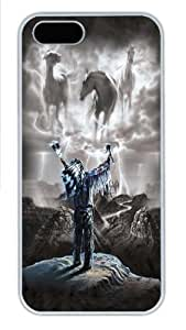 For Iphone 6 Plus Phone Case Cover Summoning the Storm Native American Custom PC Hard For Iphone 6 Plus Phone Case Cover White