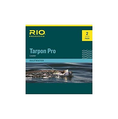 RIO Products Leaders Pro Tarpon Leader 30Lb Class 60Lb Fluorocarbon Shock, Clear
