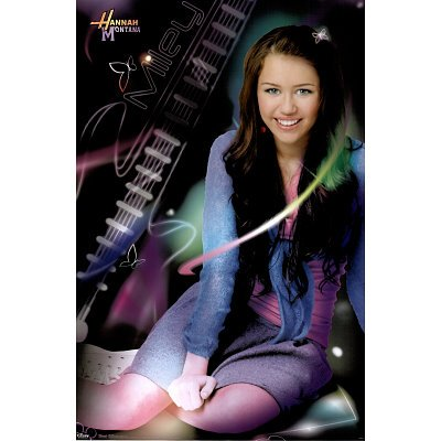 (24x36) Hannah Montana (Simply Miley) TV Poster Print