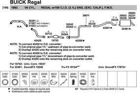 - Walker 35811 Exhaust Insulator