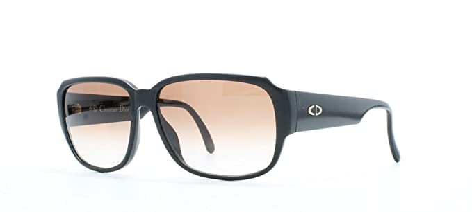 e0100afae9b Image Unavailable. Image not available for. Colour  Christian Dior 2613 90  Black Certified Vintage Square Sunglasses ...
